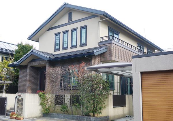 京都市H様邸外観
